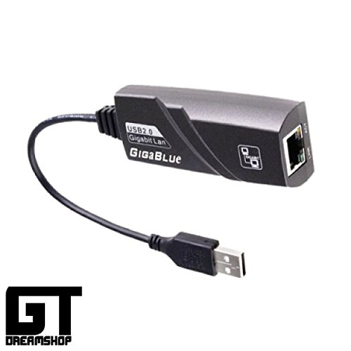 Giga Blue USB LAN GigaBit Adapter für Quad, SE & UE
