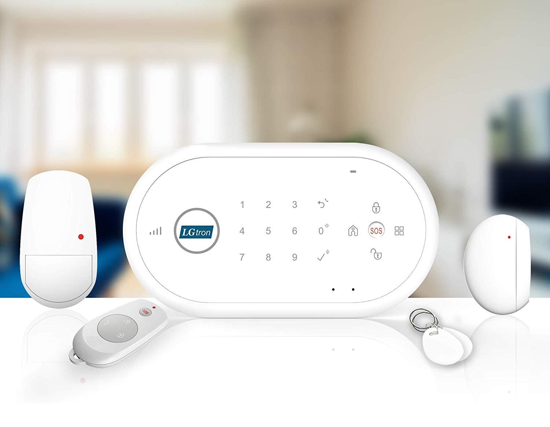 LGtron GSM Smart Funk Alarmanlage LGD8001