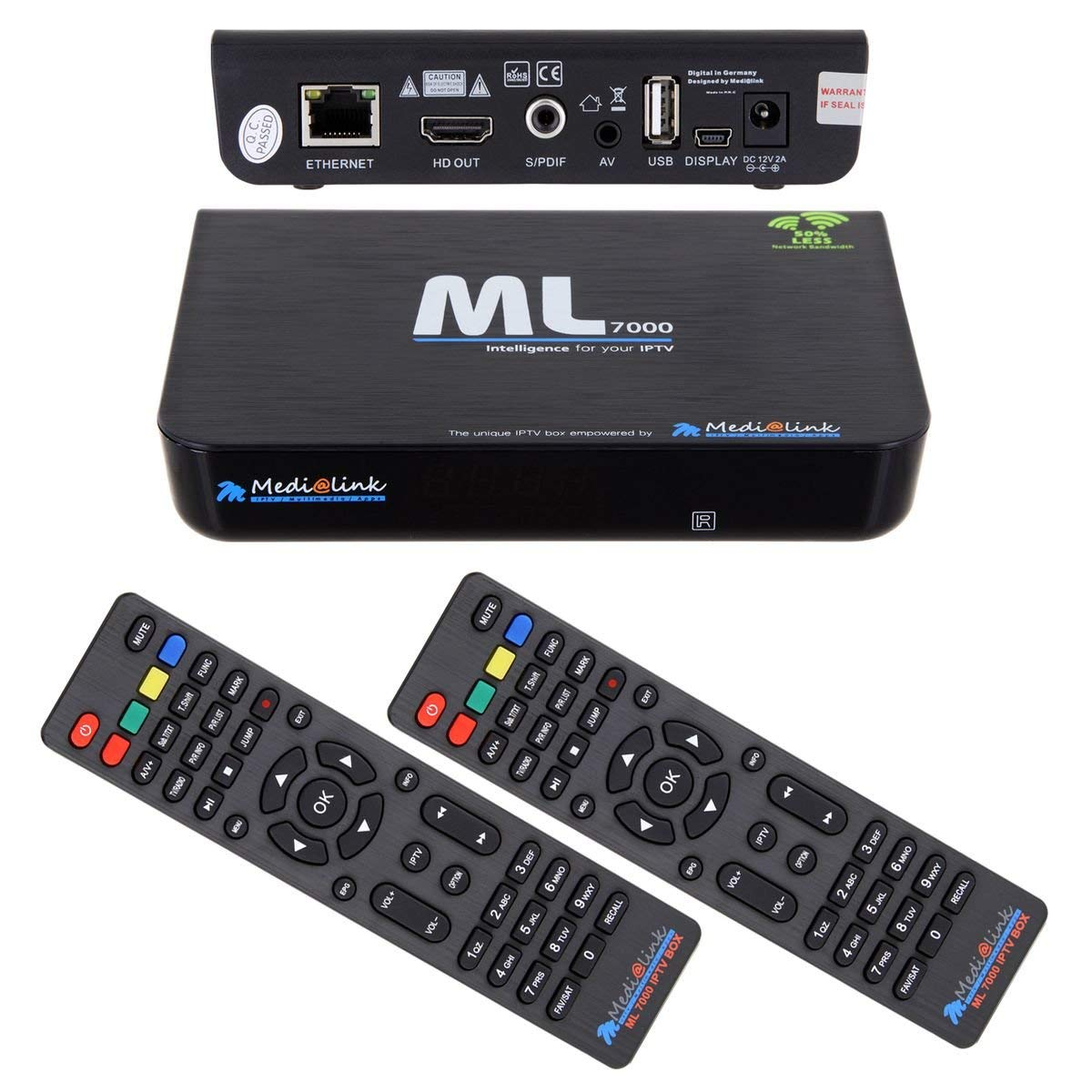 Medialink Smart Home ML 7000 IPTV Box Receiver