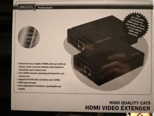 Digitus High Quality cats HDMI video extender