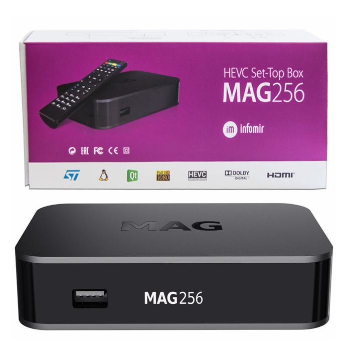 MAG 256 IPTV Set-Top-Box
