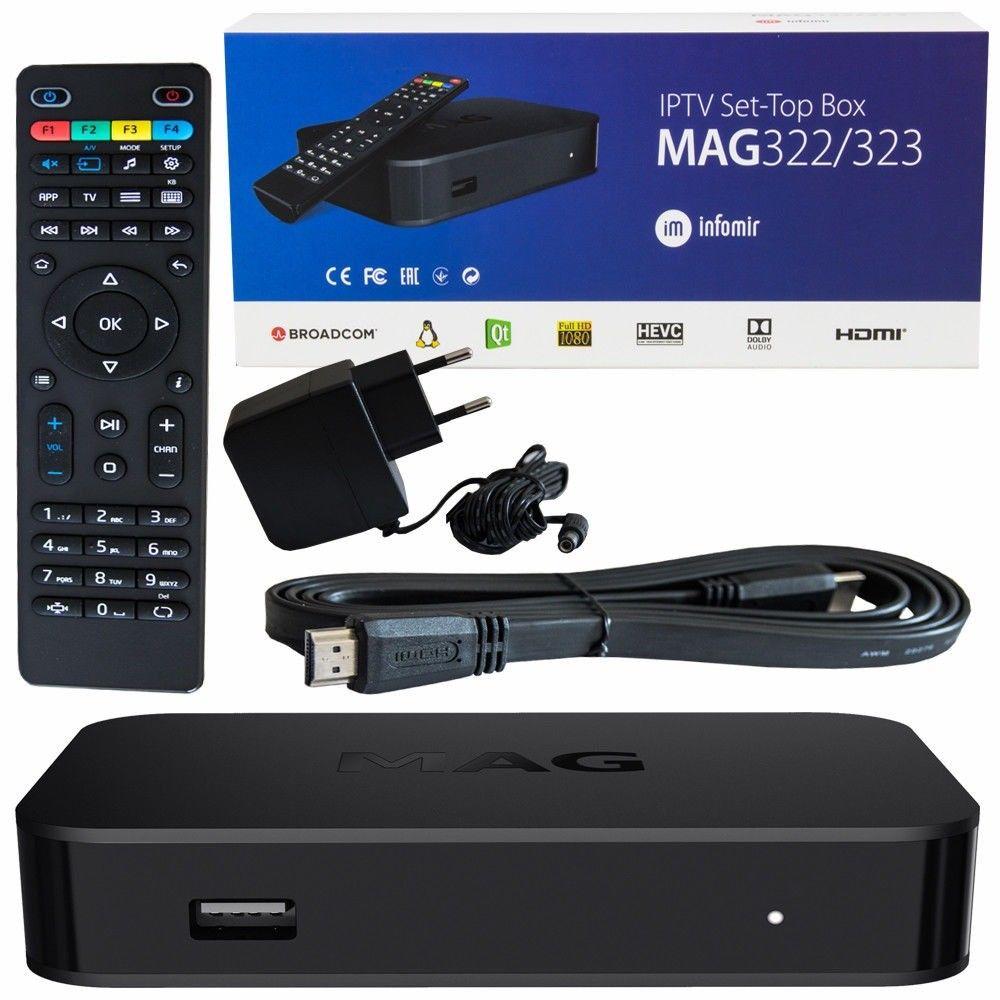 Mag322 IPTV STB