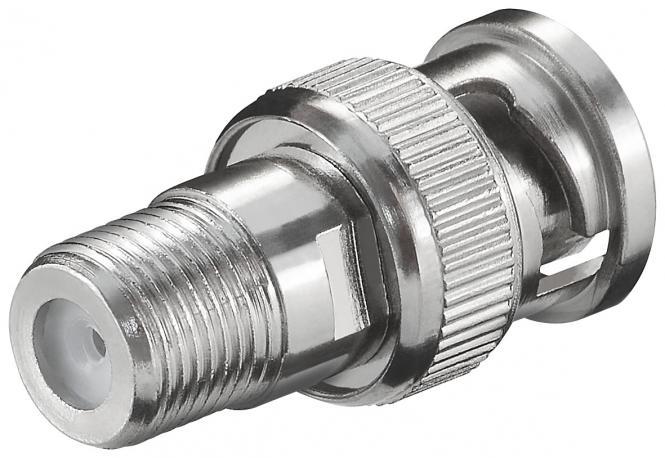 F-Kupplung/ BNC Stecker WE 3016